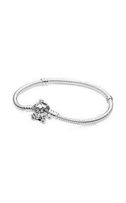 Pandora Disney, Cinderella Pumpkin Coach Clasp Pandora Moments Bracelet 599190C01-17 product image
