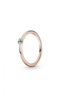 Pandora Colours Light Blue Solitaire Ring 189259C02-50 product image
