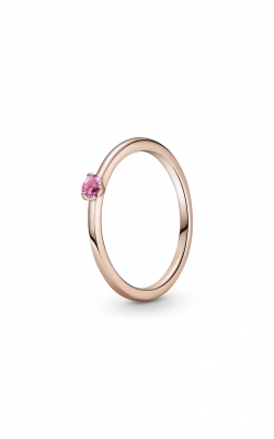 Pandora Colours Pink Solitaire Ring 189259C03-52 product image