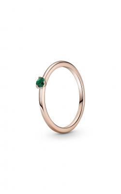 Pandora Colours Green Solitaire Ring 189259C05-54 product image