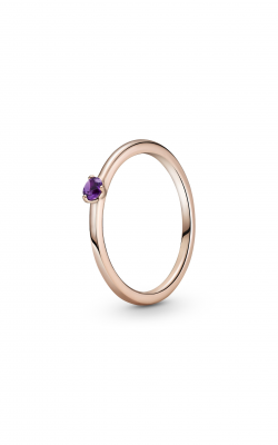 Pandora Colours Purple Solitaire Ring 189259C06-50 product image