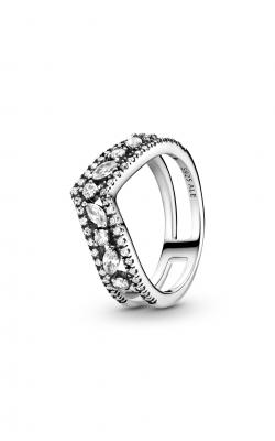 Pandora Wish Sparkling Marquise Double Wishbone Ring 199095C01-48 product image