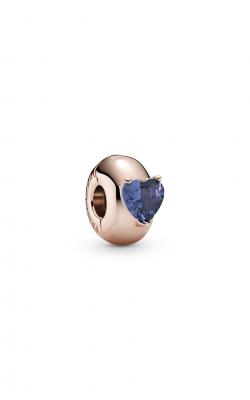 Pandora Colours Blue Heart Solitaire Clip Charm 789203C02 product image