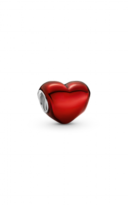 Pandora Colours Metallic Red Heart Charm 799291C02 product image