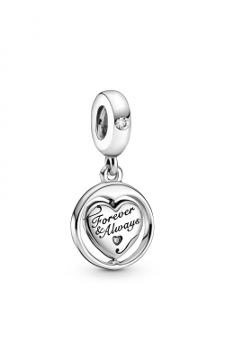 Pandora People Spinning Forever & Always Soulmate Dangle Charm 799266C01 product image