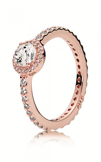 f92d394aa PANDORA Rose™ & Clear CZ, Classic Elegance Ring 180946CZ-48