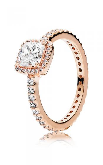 dad21e43e PANDORA Rose™ & Clear CZ Timeless Elegance Ring 180947CZ-48