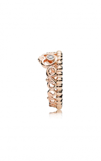 00dd48147 PANDORA Rose™ & Clear CZ, My Princess Tiara Ring 180880CZ-48
