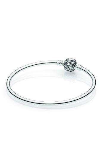 Pandora Women Silver Bangle - 597101-17 hcX5N