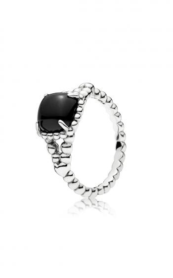 28c072e92 PANDORA Vibrant Spirit Ring, Black Crystal 197188NCK-48