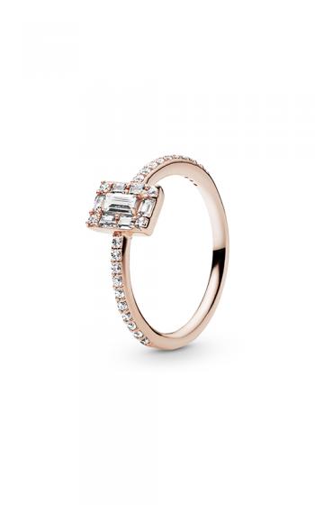 0414f7e40 Luminous Ice Ring PANDORA Rose™ & Clear CZ 187541CZ-48
