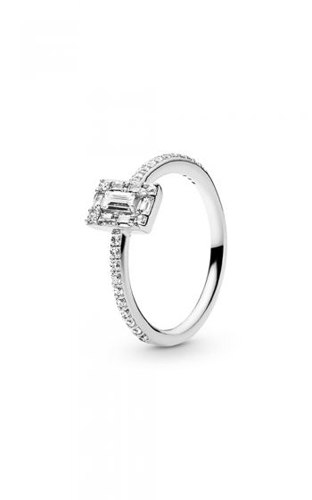 35815a439 PANDORA Luminous Ice Ring Clear CZ 197541CZ-48