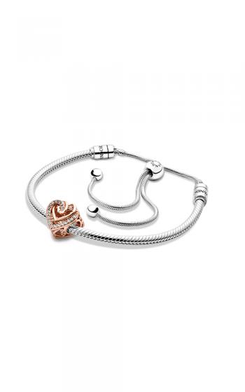 Pandora Icons Sparkling Entwined Hearts Bracelet Gift Set B801506-2