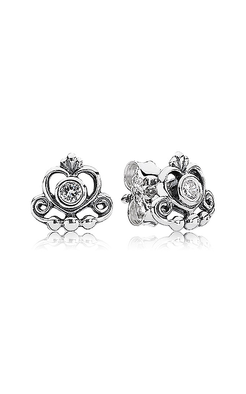 PANDORA My Princess, Clear CZ Earrings 290540CZ product image