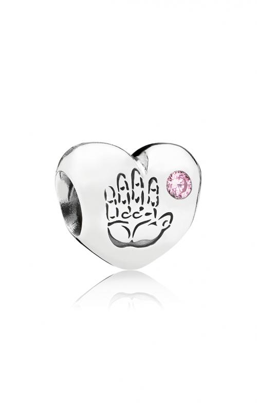 PANDORA Baby Girl Pink CZ Charm 791280PCZ product image