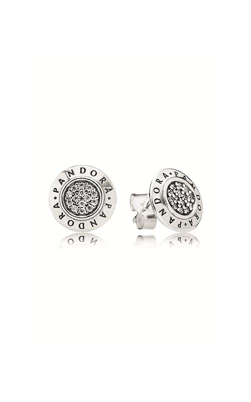 Pandora Signature Stud Earrings Clear CZ 290559CZ product image