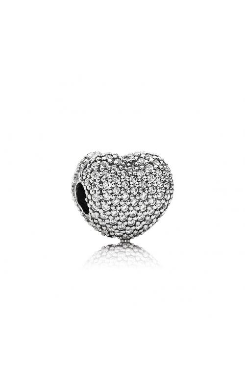 PANDORA Pavé Open My Heart Clear CZ Clip 791427CZ product image