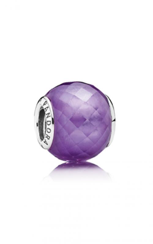 PANDORA Petite Facets Purple CZ Charm 791499ACZ product image