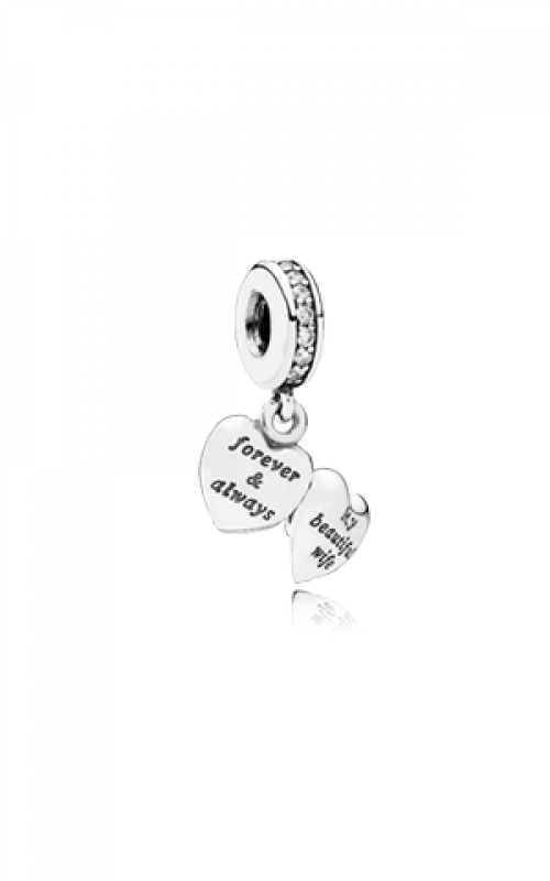 Pandora My Beautiful Wife Dangle Charm Clear CZ 791524CZ product image