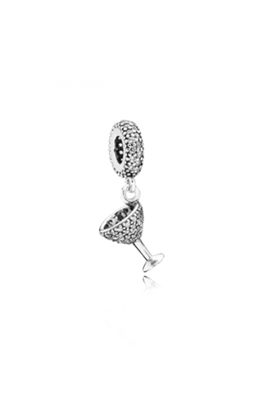 Pandora Night Out Dangle Charm Clear CZ 791535CZ product image