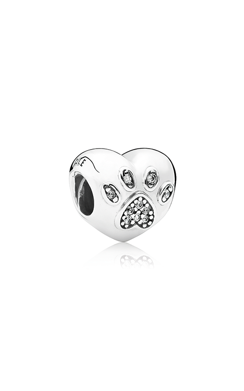 PANDORA I Love My Pet Charm Clear CZ 791713CZ product image