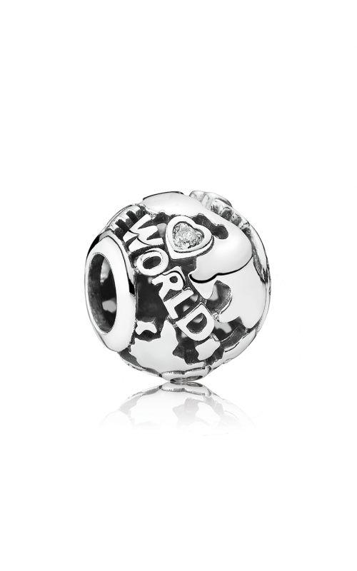 PANDORA Around the World, Clear CZ Charm 791718CZ product image