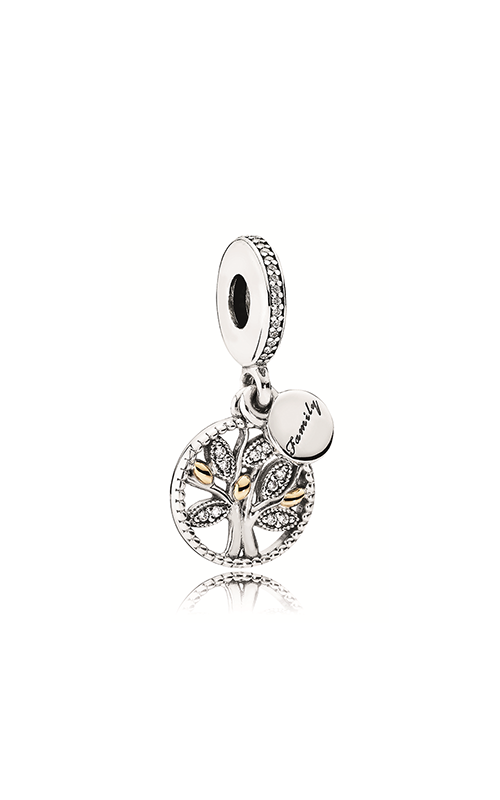Pandora Family Heritage Clear CZ Dangle Charm 791728CZ product image