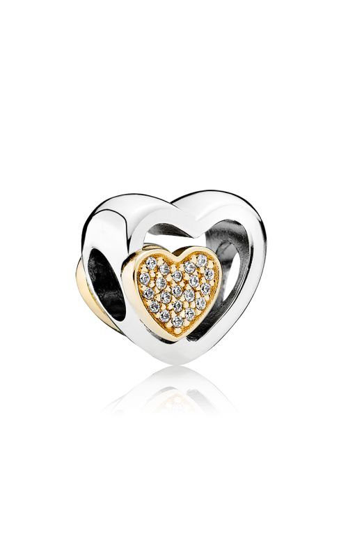 PANDORA Joined Together Charm Clear CZ 791806CZ product image