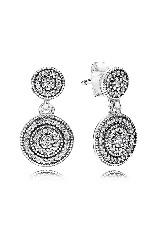 PANDORA Radiant Elegance, Clear CZ Earrings 290688CZ product image