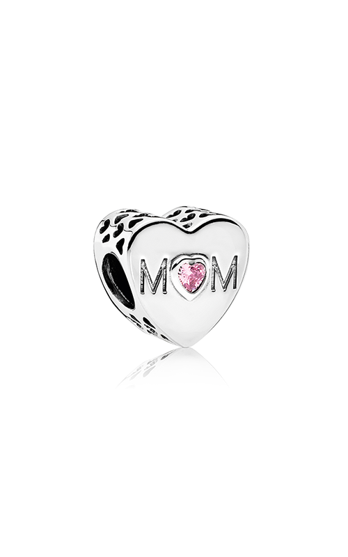 PANDORA Mother Heart Charm Pink CZ 791881PCZ product image