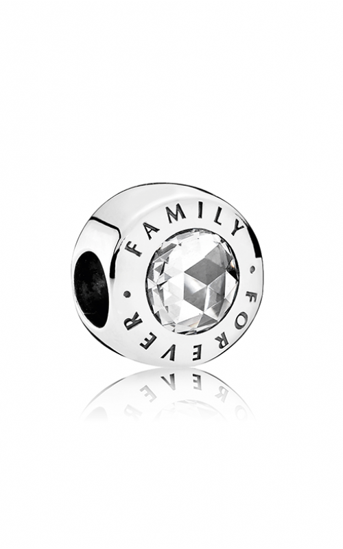 Pandora Family Forever Clear CZ Charm 791884CZ product image