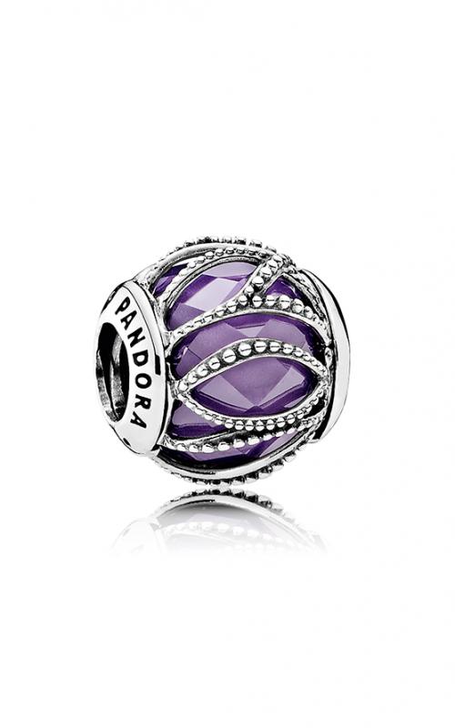 Pandora Intertwining Radiance Purple & Clear CZ Charm 791968ACZ product image