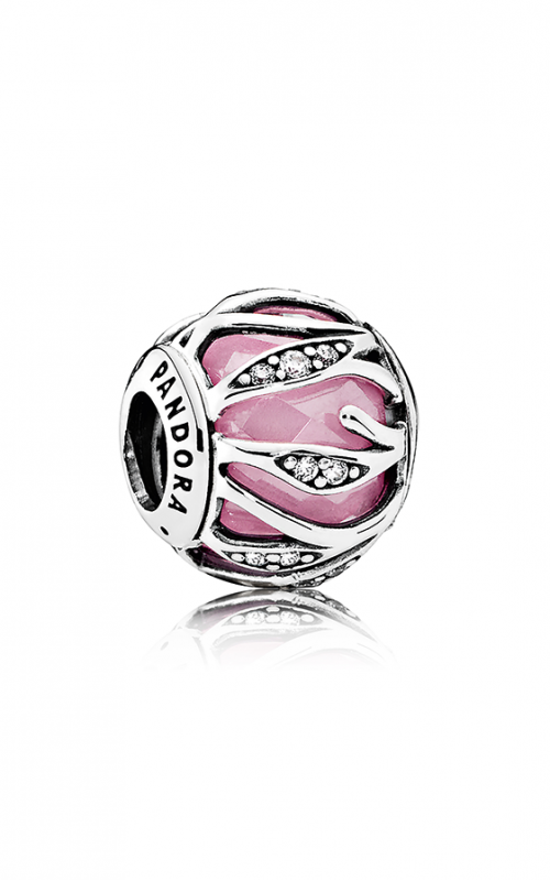 Pandora Nature's Radiance Pink & Clear CZ  Charm 791969PCZ product image