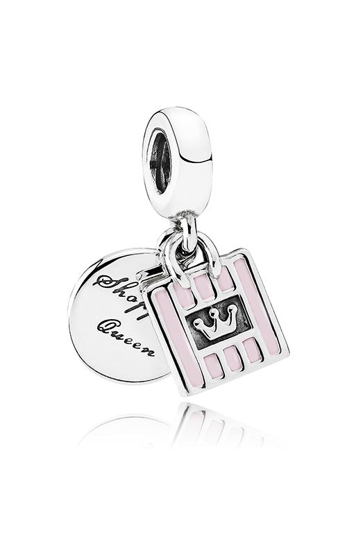 PANDORA Shopping Queen Dangle Charm Soft Pink Enamel 791985EN40 product image