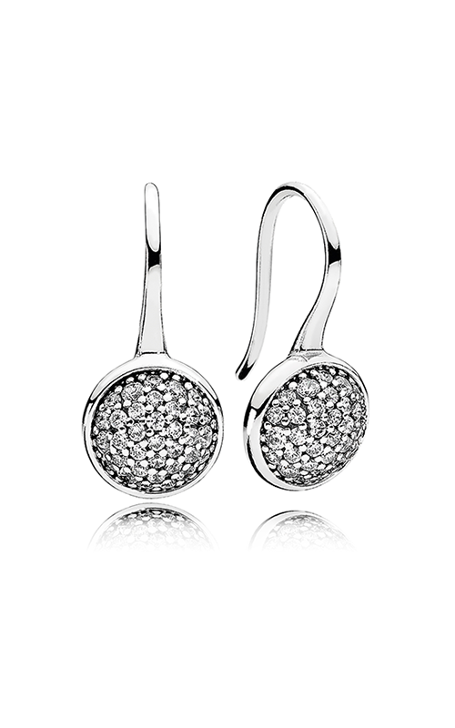 PANDORA Dazzling Droplets Clear CZ Earrings 290734CZ product image