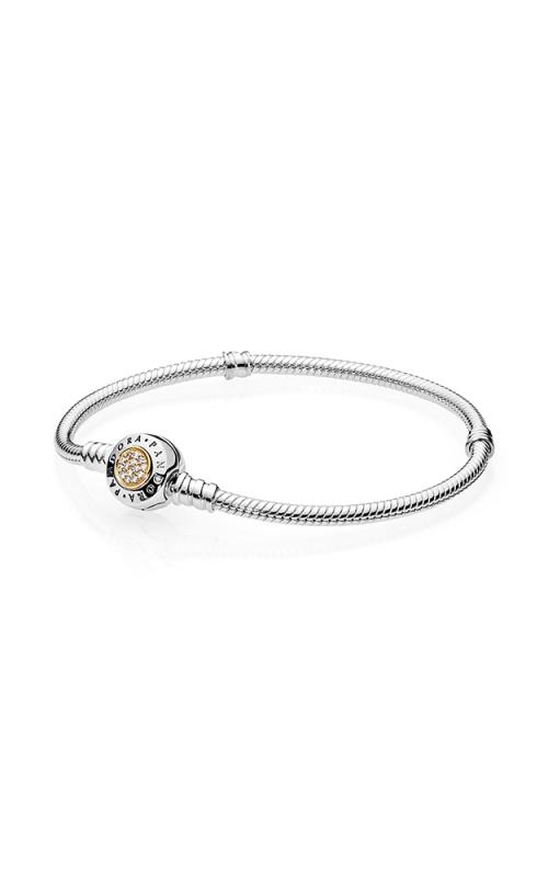 Pandora Signature Clear CZ Bracelet 590741CZ-16 (Retired) product image