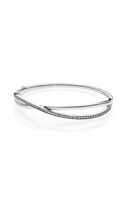 PANDORA Entwined Clear CZ Bracelet 590533CZ-1 product image