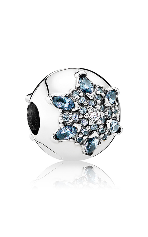 PANDORA Crystalized Snowflake Multi-Colored Crystal & Clear CZ Charm 791997NMB product image