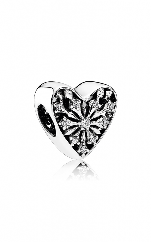 PANDORA Heart of Winter Charm Clear CZ 791996CZ product image