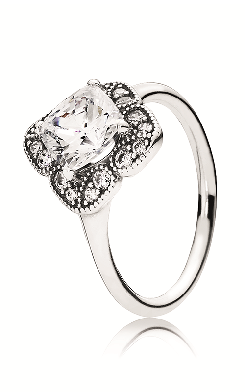 PANDORA Crystalized Floral Fancy Ring 190966CZ-54 product image