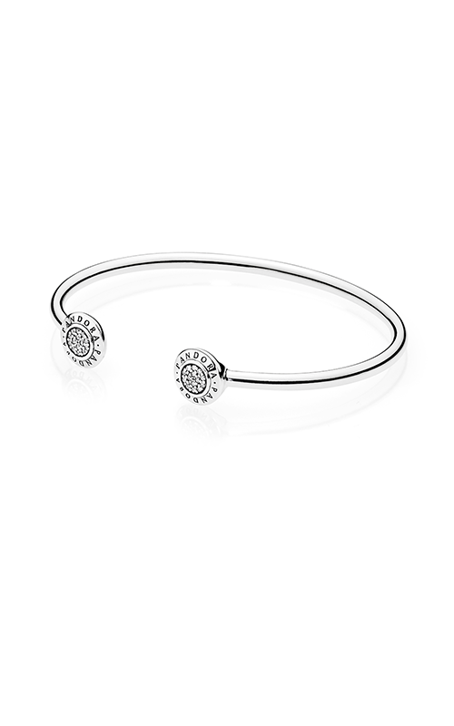 PANDORA Signature Clear CZ Bangle 590528CZ-2 product image