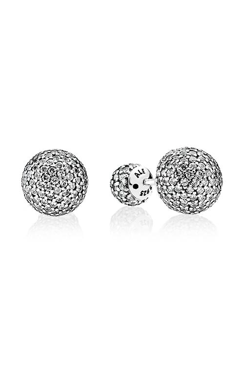 PANDORA Pavé Drops Clear CZ Earrings 290737CZ product image