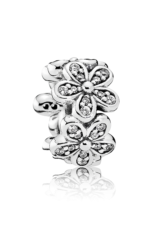 PANDORA Dazzling Daisies Spacer Clear CZ 792053CZ product image