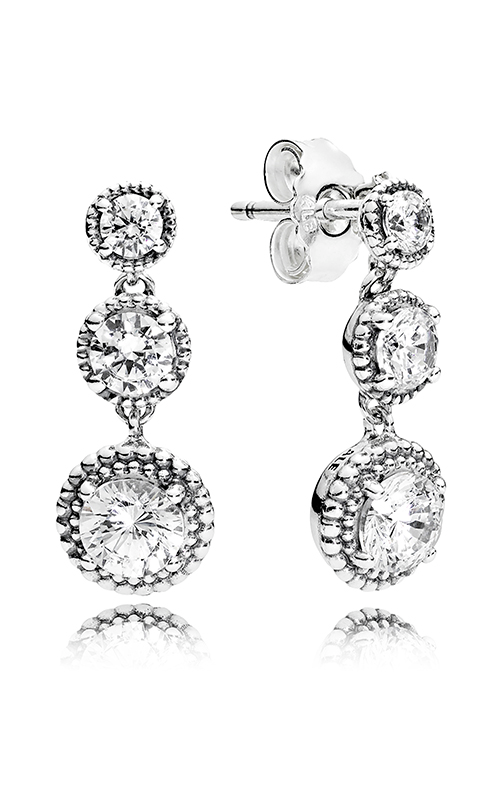 PANDORA Eternal Elegance Clear CZ Earrings 290742CZ product image