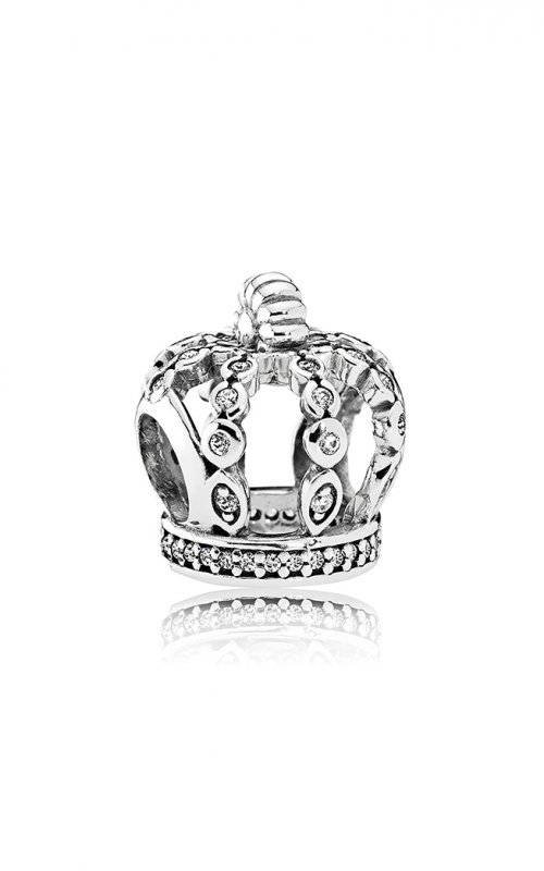 PANDORA Fairytale Crown Charm Clear CZ 792058CZ product image