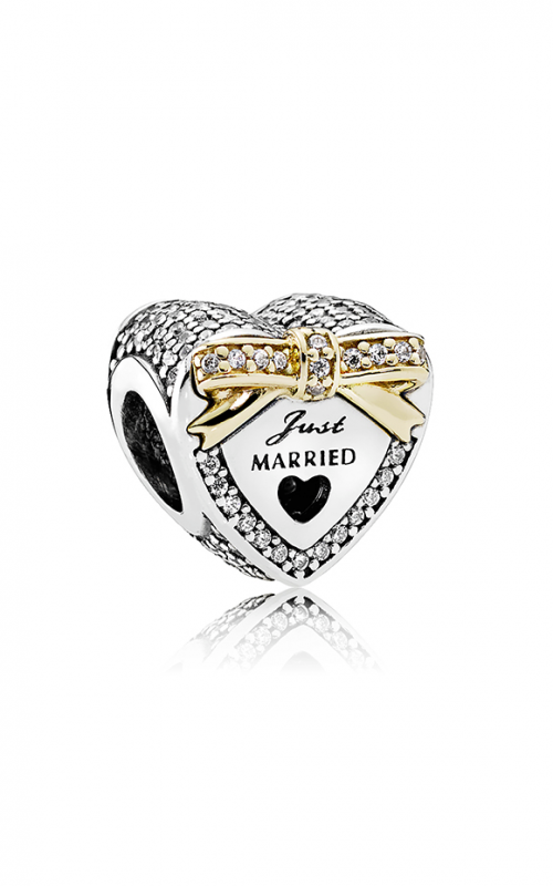 PANDORA Wedding Heart Charm Clear CZ 792083CZ product image