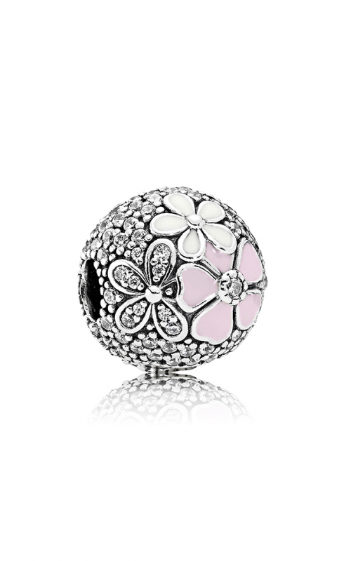 PANDORA Poetic Blooms Mixed Enamels & Clear CZ Charm 792084CZ product image