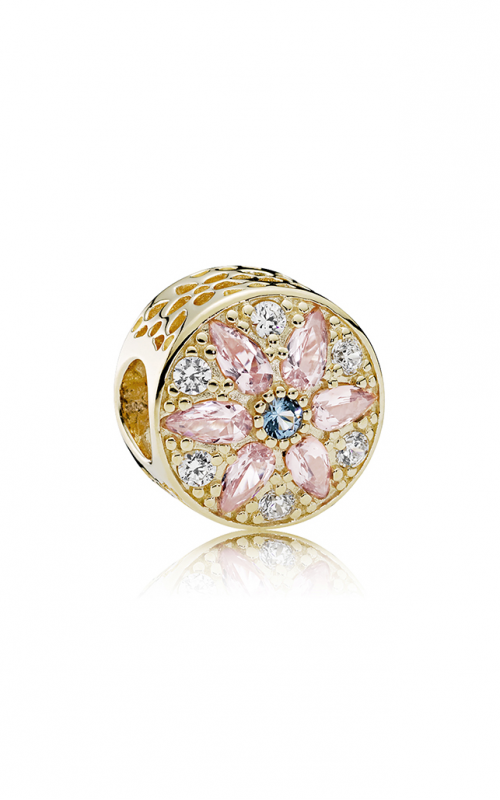PANDORA Opulent Floral Charm Multi-Colored Crystals & Clear CZ 751003NBP product image