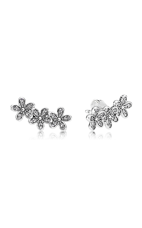 PANDORA Dazzling Daisies Clear CZ Earrings 290744CZ product image