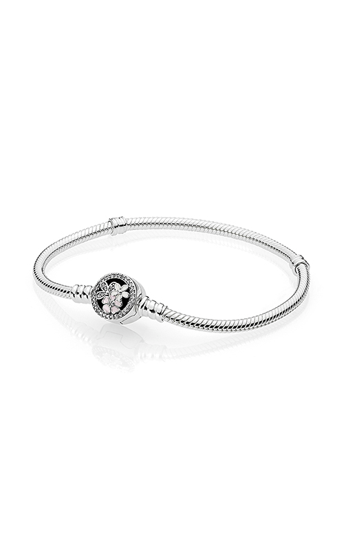 PANDORA Poetic Blooms Mixed Enamels & Clear CZ Bracelet 590744CZ-18 product image
